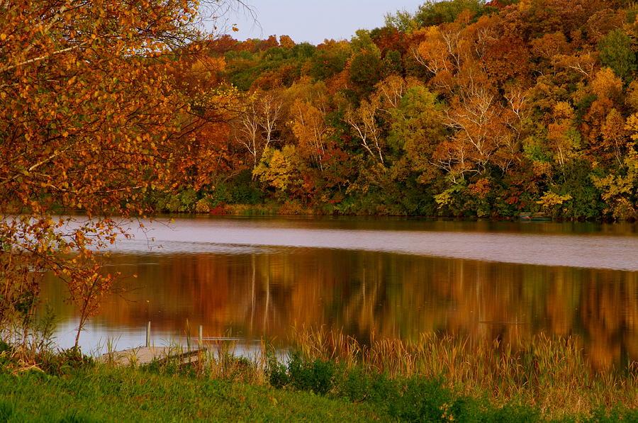 Autumn Photograph - Autumn Reflection by Susan Camden
