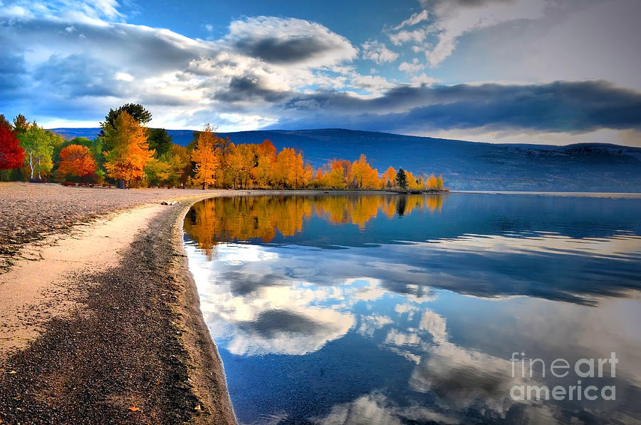 Autumn Photograph - Autumn Reflections In October by Tara Turner