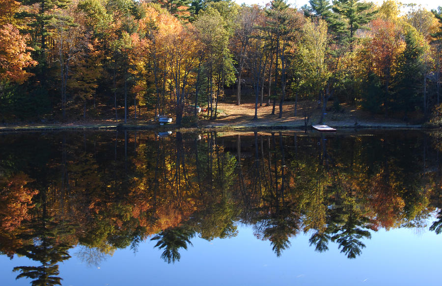Autumn Photograph - Autumn Reflections by Kim French