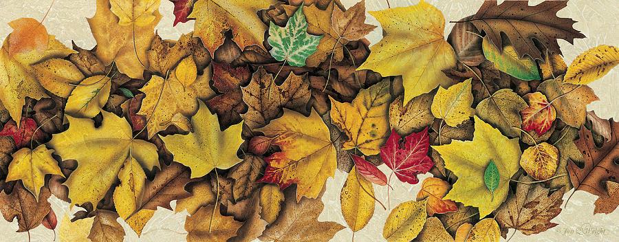 Jon Q Wright Painting - Autumn Splendor by JQ Licensing