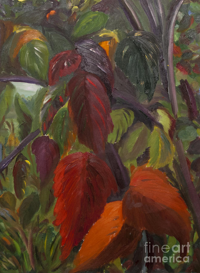 Fall Painting - Autumn Splendor by Art Hill Studios