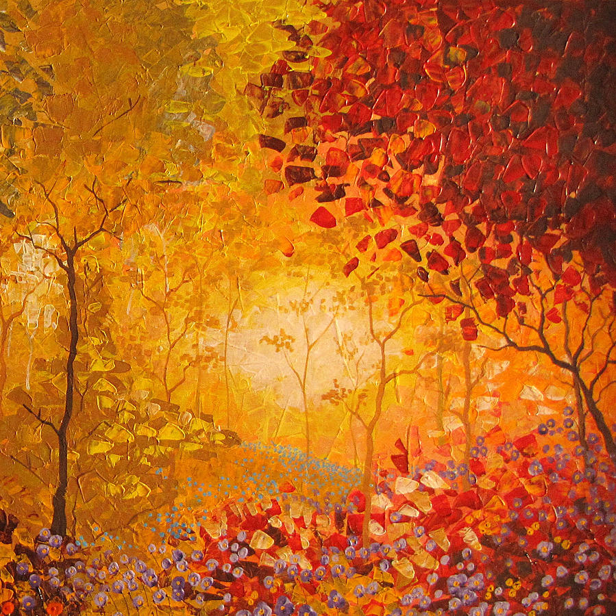 Autumn Painting By Stefan Georgiev