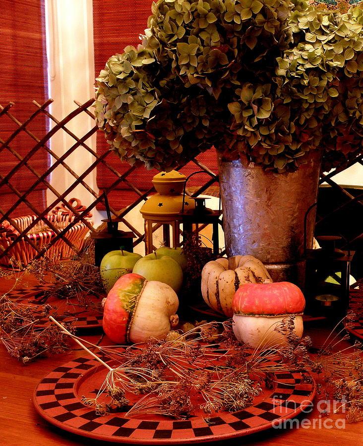 Autumn Photograph - Autumn Still Life  2 by Tanya  Searcy