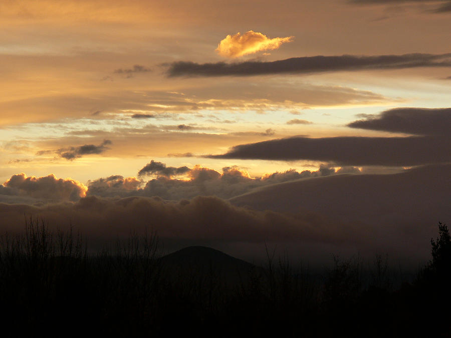 Sunrise Photograph - Autumn Sunrise by Natalie LaRocque