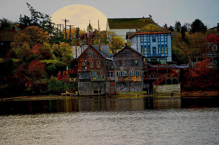 Autumn Digital Art - Autumn View by Kurt Adams