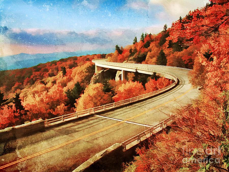 Appalachia Photograph - Autumn Views by Darren Fisher