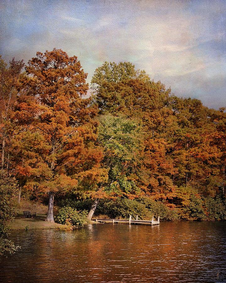 Autumn Photograph - Autumns Edge by Jai Johnson