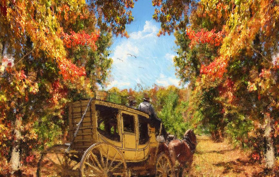 Autumn Photograph - Autumns Essence by Lourry Legarde