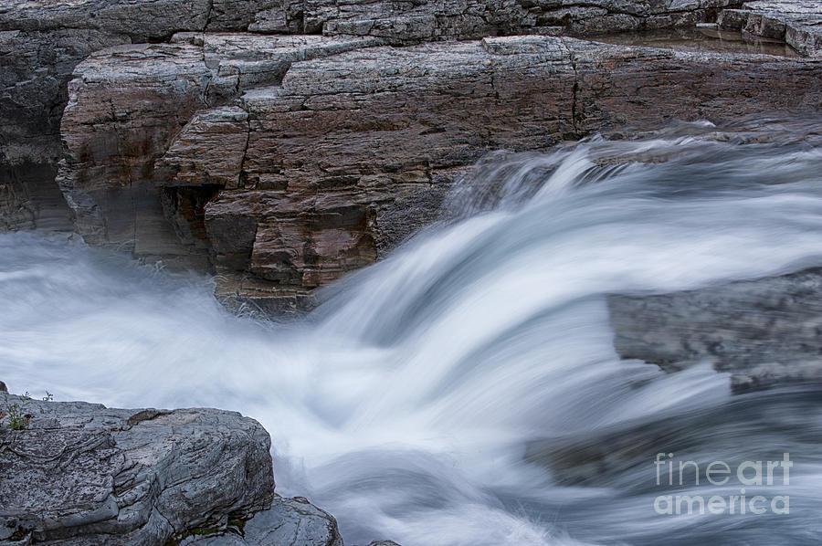Glacier National Park Photograph - Avalanche Creek - Glacier National Park by Sandra Bronstein