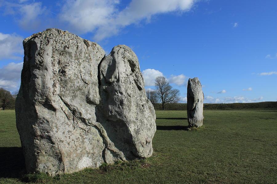Standing Stones Photograph - Avebury Stones by Adrian Wilkins