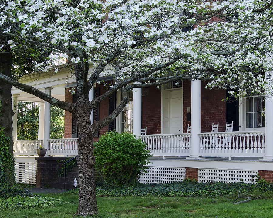 National Register Photograph - Avenel - Bedford - Virginia by Steve Hurt