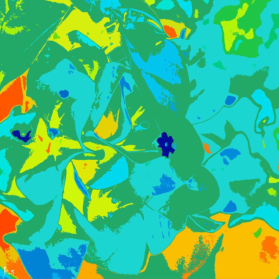 Colorful Digital Art - Avi by Keren Shiker