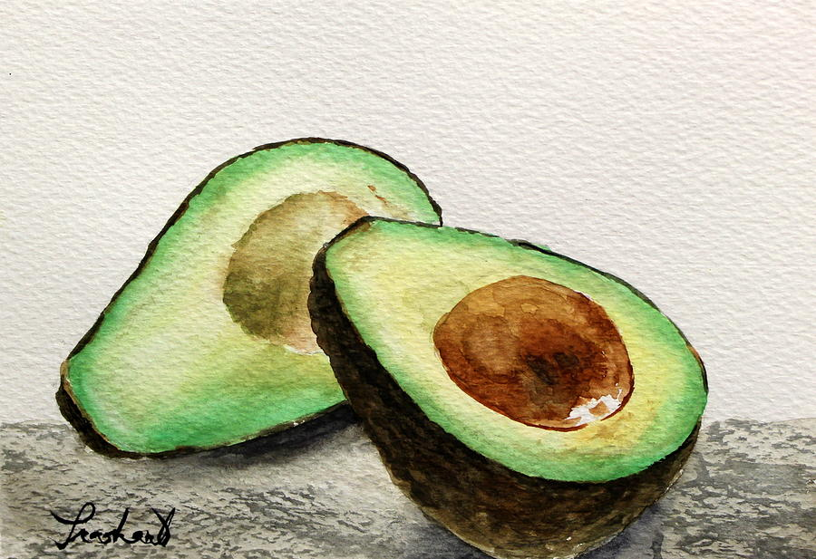 Avocado Painting - Avocado by Prashant Shah