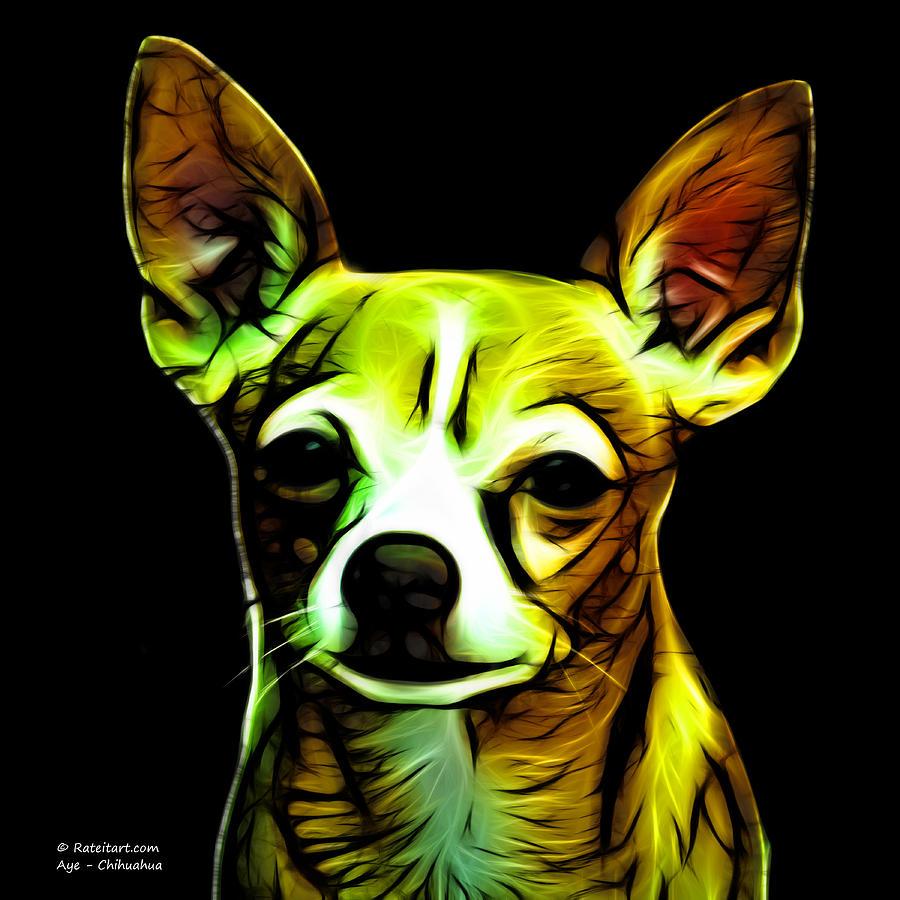 Chihuahua Digital Art - Aye Chihuahua  by James Ahn