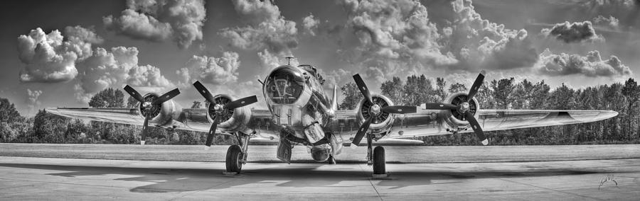 B-17 Photograph by Williams-Cairns Photography LLC