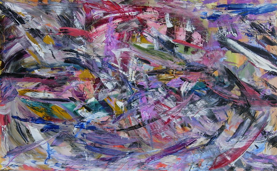 Abstract Painting - B Bridge by Beverly Smith