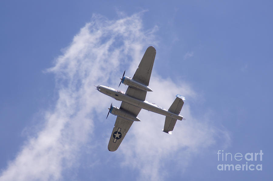 B25 Photograph - B25 by Robert E Alter Reflections of Infinity