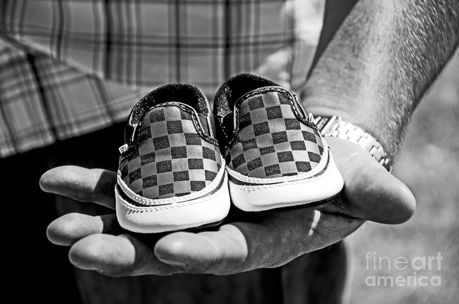 Vans Shoes Photograph - Baby Shoes by Baywest Imaging