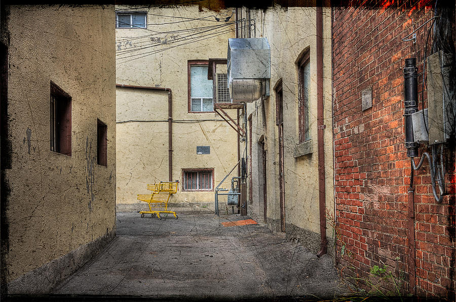 Back Alley Cityscape Photograph By John Herzog