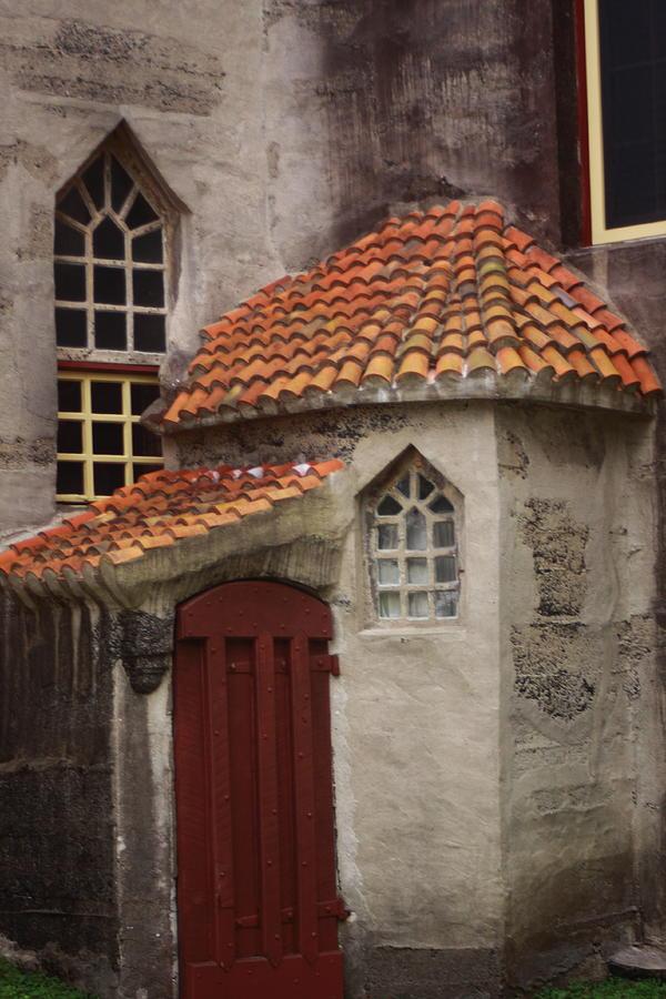 Castle Photograph - Back Entrance  by Paul Slebodnick