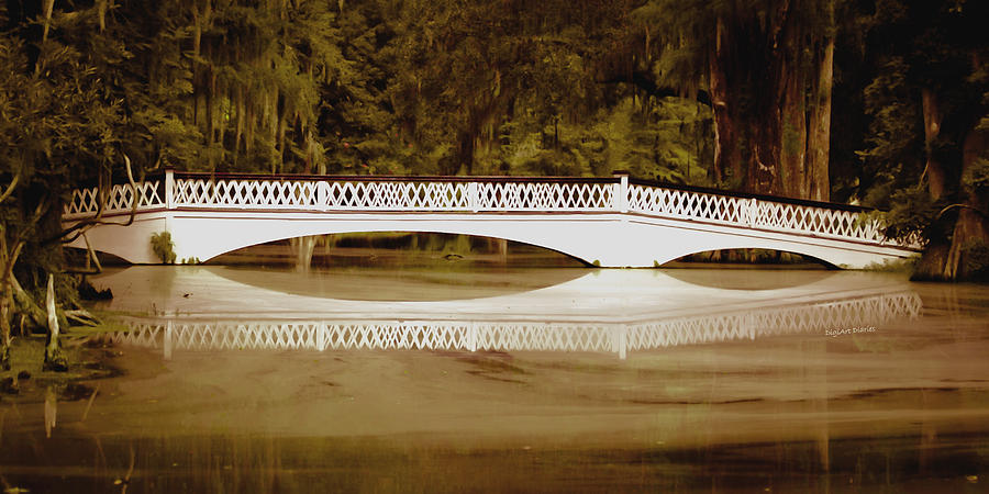Bridge Photograph - Back In The Day by DigiArt Diaries by Vicky B Fuller