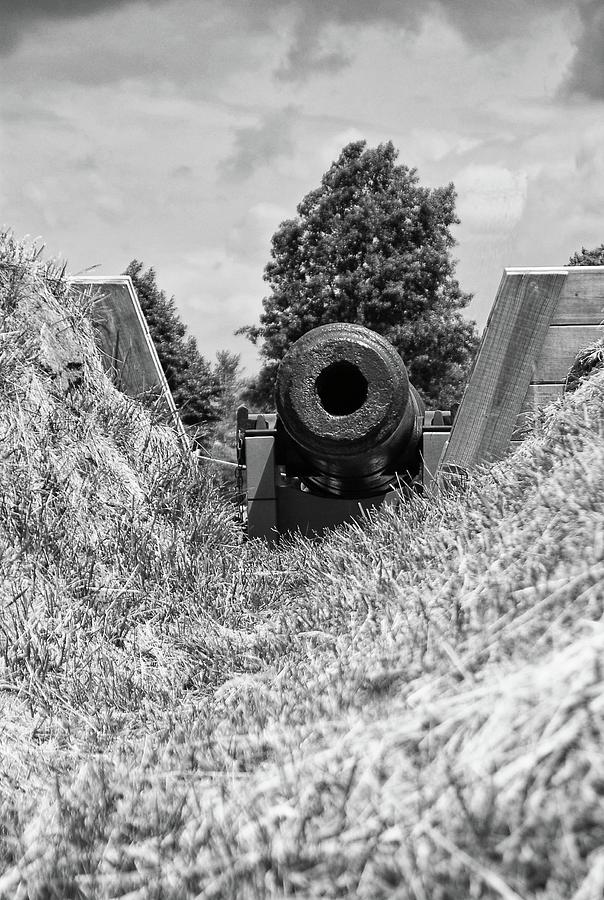 Artillery Photograph - Back Off by Guy Whiteley