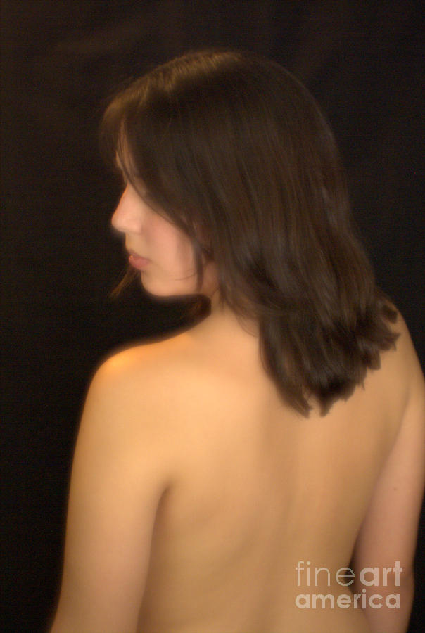 Back Profile Photograph by T F McDonald