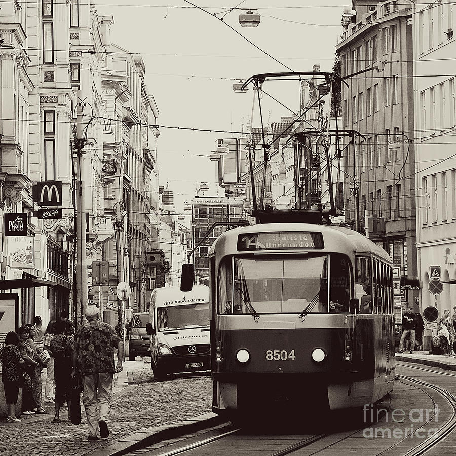 Tram Photograph - Back To Yesteryears by Ivy Ho