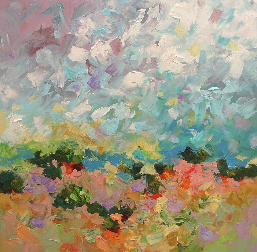 Painting Painting - Backcountry by Linda Monfort