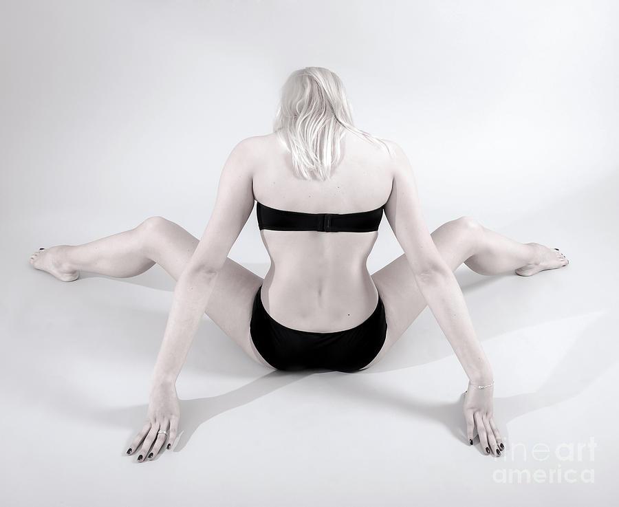 Woman Photograph - Backside by Pierre-jean Grouille