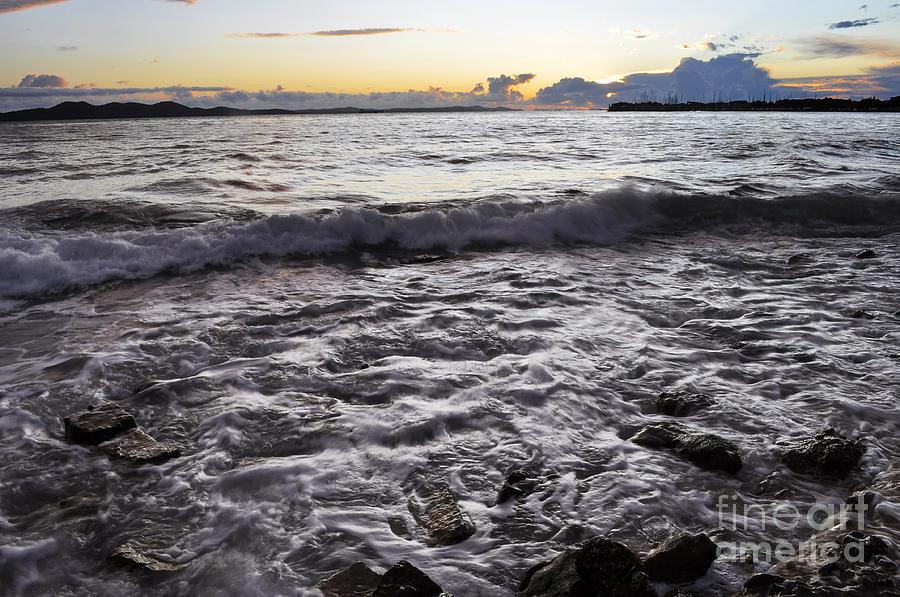 Coast Photograph - Backwash by Roberto Bettacchi