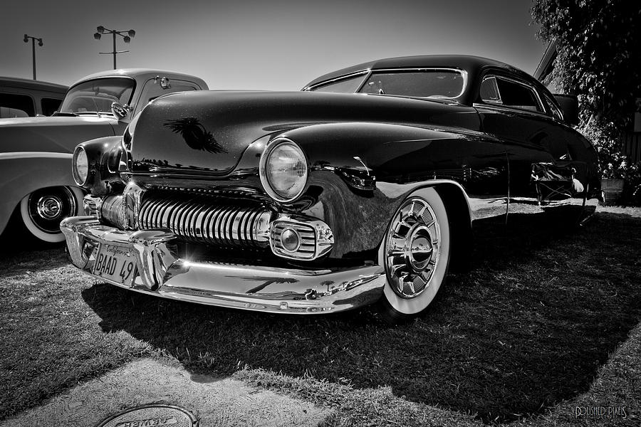 Car Photograph - Bad 49 Merc by Michael Kerckaert