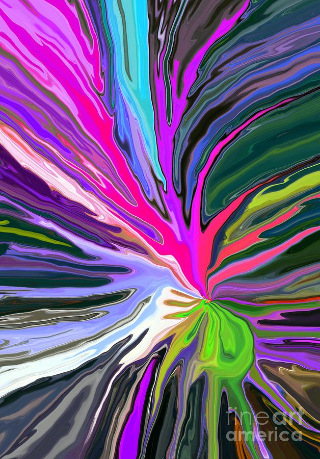Abstract Digital Art - Bad Seed by Chris Butler
