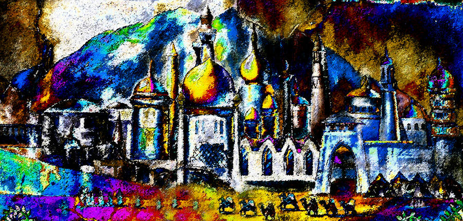 Artwork Painting - Baghdad  by David Lee Thompson