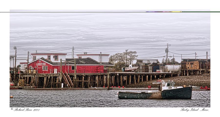 Architecture Photograph - Bailey Island Maine by Richard Bean