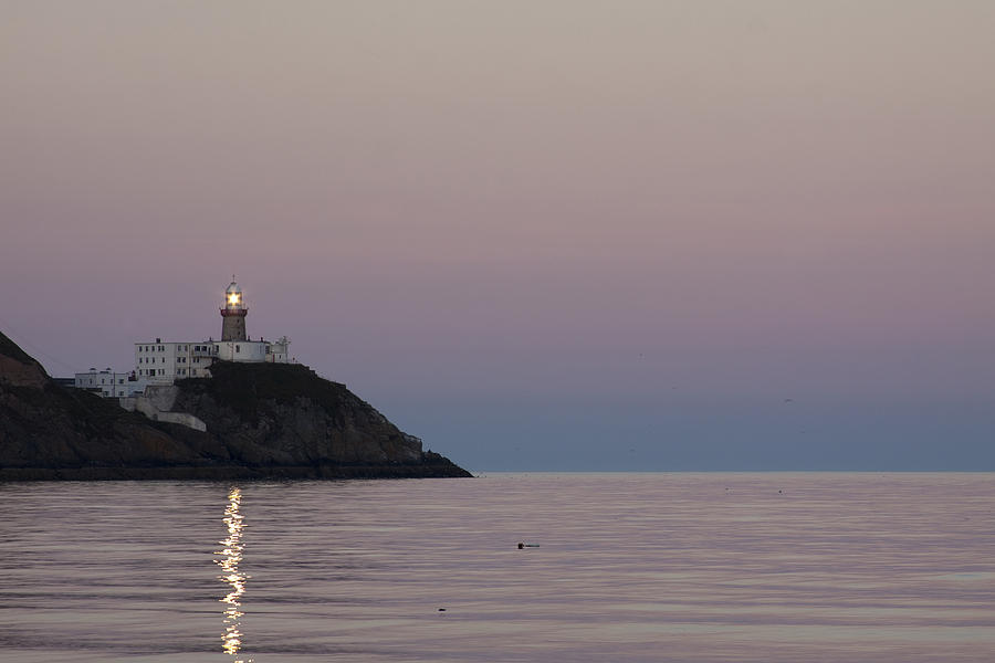 Lighthouse Photograph - Baily Lighthouse Howth by Dave McManus
