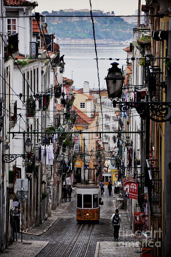 Lisbon Photograph - Bairro Alto - Lisbon by Armando Carlos Ferreira Palhau