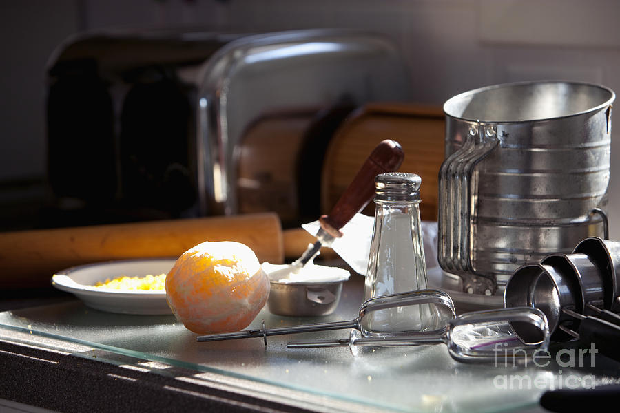 Bake Photograph - Baking Still Life by Will & Deni McIntyre