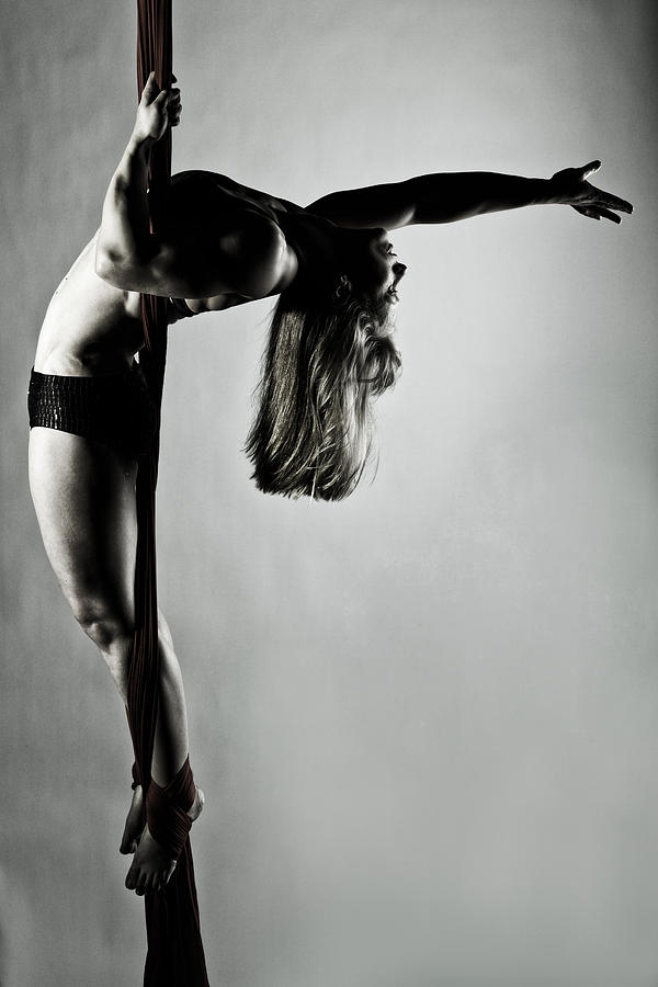 Silk Photograph - Balance Of Power 2012 Series 4 by Monte Arnold