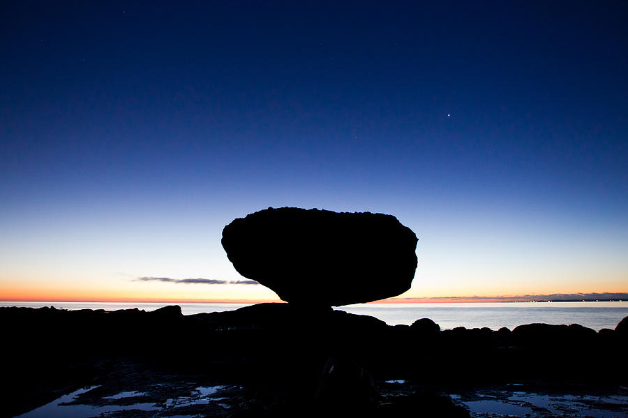 Balancing Rock Photograph - Balancing Rock Sunrise by Brandon Broderick