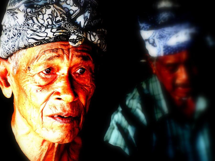 Bali Photograph - Balinese Old Man by Funkpix Photo Hunter