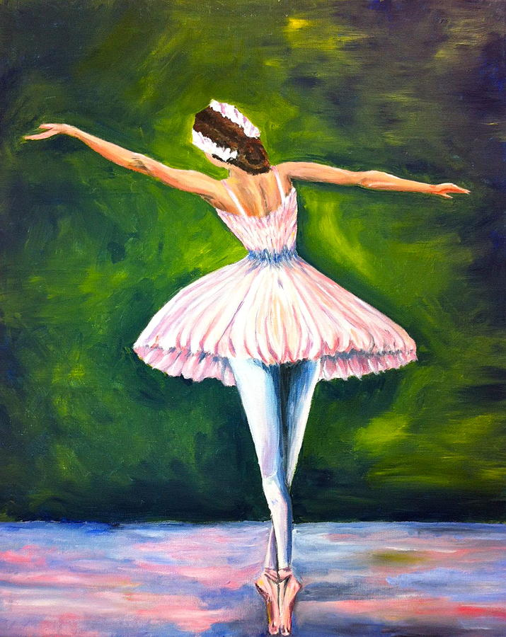 Ballerina Painting - Ballerina by Tiffany Albright