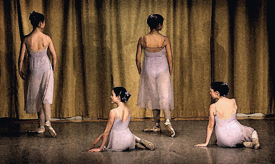 Four Photograph - Ballerinas by Ercole Gaudioso