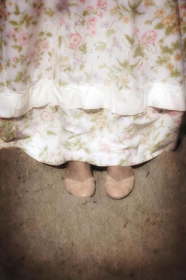 Foot Photograph - Ballerinas by Joana Kruse