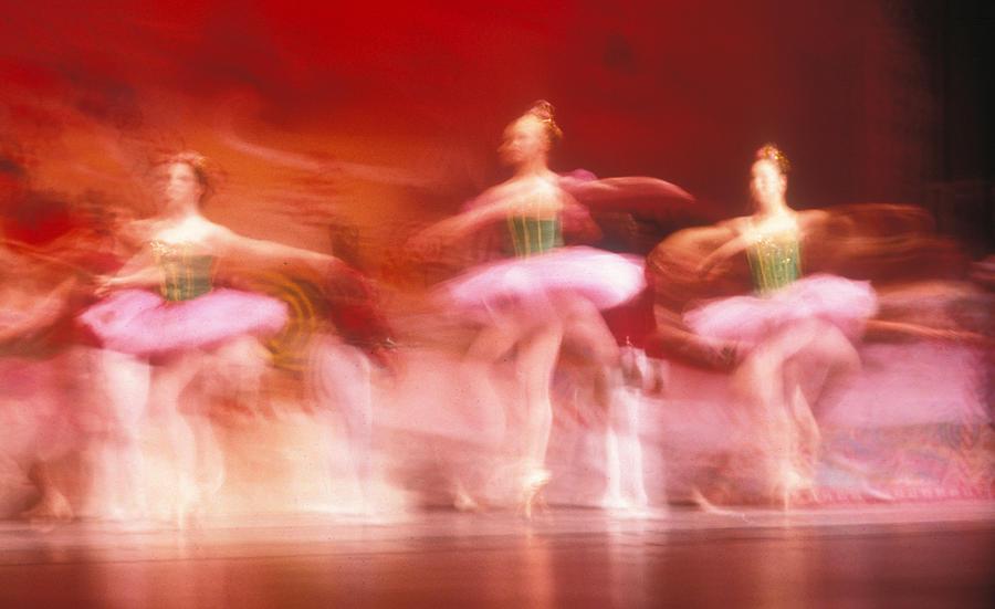 Ballet Dancers Photograph - Ballet Dancers by John Wong