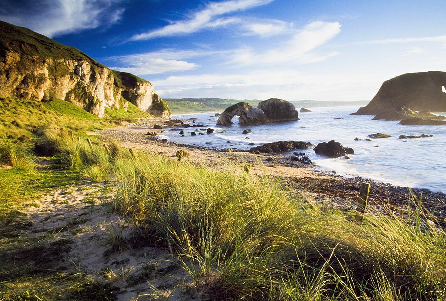 Ballintoy County Antrim Ireland Beach Photograph By The