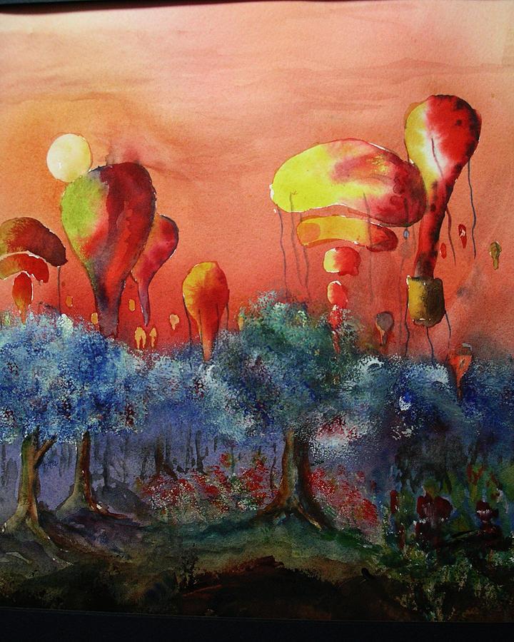 Balloon Fantasy Painting by David Ignaszewski
