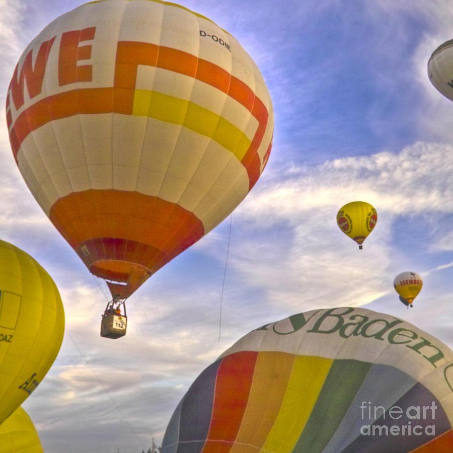 Europe Photograph - Balloon Ride by Heiko Koehrer-Wagner