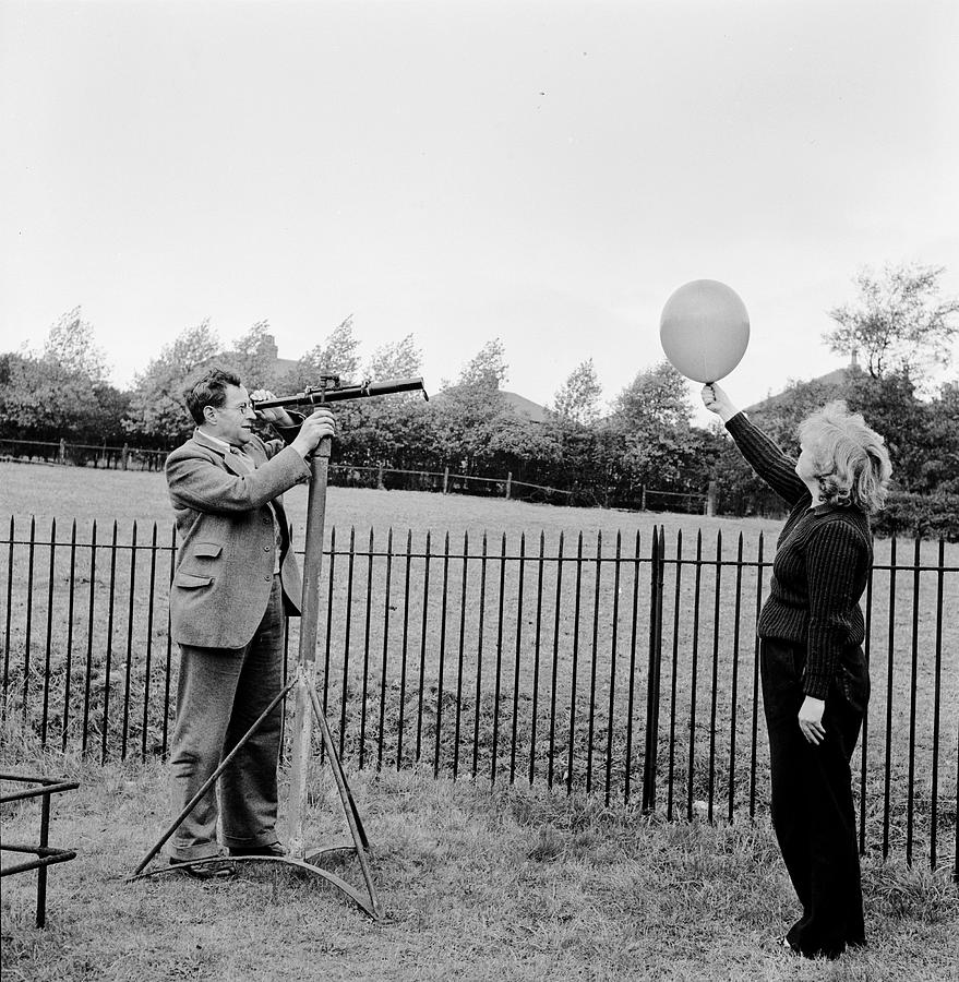 Adults Only Photograph - Balloon Viewing by Harry Kerr