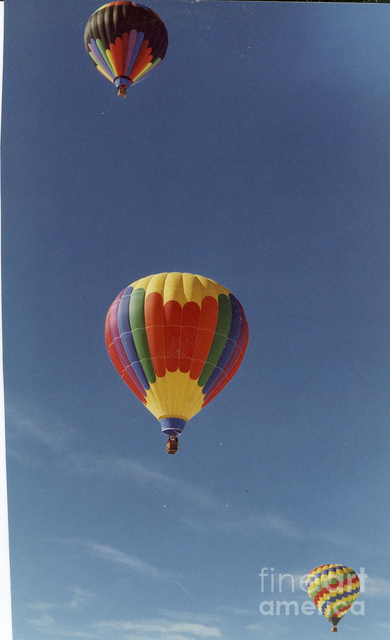 Photograph - Balloons Trio by Stacey Grant